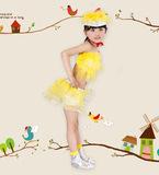 新款儿童舞蹈服幼儿园节日儿童动物表演服装舞蹈演出服